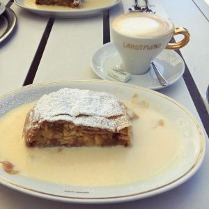 The best Apfelstrudel in the world ❤️ Serve with the Viennese Classic coffee- ...