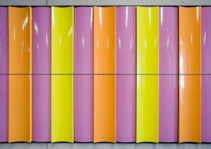 Kunst im öffentlichen Raum: Peter Sandbichler, 12 Töne, 2019 Ort: Hauptbahnhof Wien, Unterführung Gertrude-Fröhlich-Sandner-Straße, 1100 Wien Foto...