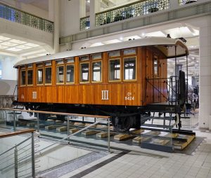 Old-school train, the history of the train's pioneers. #tmw #museum #wien #vienna #train ...