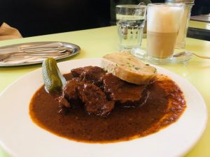 20191005 The best beef goulash I have ever have in these 19 days ...