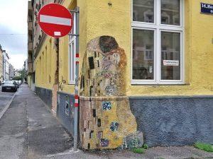 Hernstorferstraße 12, 1140 Artist: Gustav Klimt 😉 for former Klimt Restaurant www.viennamurals.at Book / Online Map /...