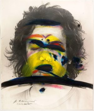 When Arnulf Rainer began to explore the self-portrait as a subject in 1967, he presented his face...