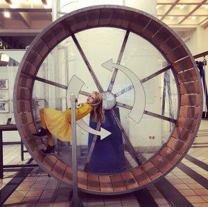 Hamsterrad im technischen #museum #wien