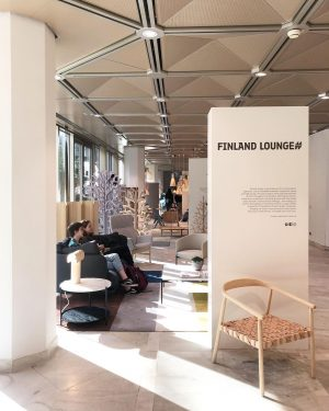 @viennadesignweek until 6th of October. We are presented in the #finlandlounge exhibition together ...