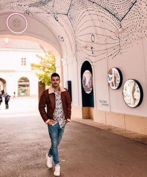 Passage to the other side. #man #portrait #fashion #tunnel #passage #austria #vienna