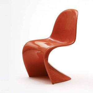 A classic of design history: The Panton Chair by Danish designer Verner Panton. It is the world's...