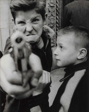 Jump into the crowd 🔫 William Klein's photographs taken in the 1950s can be understood as an...