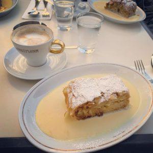 #beststrudelintown #vienna #austria #cafelandtmann #яблочныйштрудель #гуляем👣