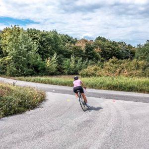 . Das Leben ist wie ein Fahrrad, man muss sich vorwärts bewegen, um das Gleichgewicht nicht zu...