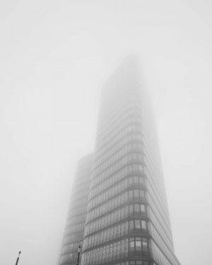 Just another foggy Monday. Ich liebe diesen Nebel. #morning #morningmood #monday #fog #blackandwhite ...