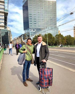 Today we went foodshopping with Mr. @alexsalgadococinero himself to the Naschmarkt, Vienna's biggest ...