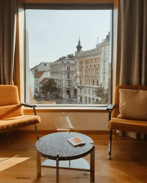 We stayed in @dastriest in our stop in Vienna. Without a doubt, this ...