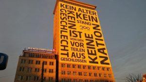 Sonnenaufgang in Wien! Der Ringturm mit Umhüllung der @erstebank.sparkasse in großartiger Morgenstimmung. ☀️☀️☀️ Wir sind begeistert! #WienerStädtische...