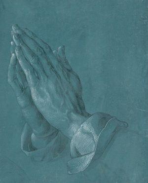 Let us help you with that nasty Monday mood 😜🙏🎨 Enjoy Dürer's PRAYING HANDS, in all its...
