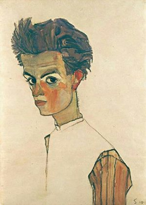 Self portraits by Egon Schiele