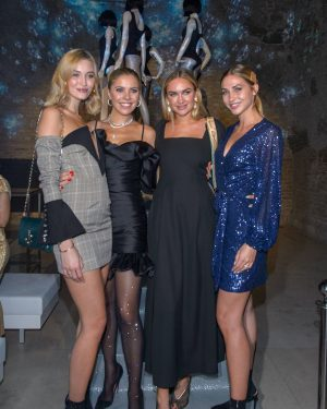 #CALZEDONIA launch event Victoria Swarovski for Calzedonia organized by #HIRZBERGEREVENTS The art of ...