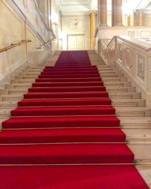 The Hofburg for a red carpet experience .... #hofburgpalace #stairsofvienna #staircase #stairfriday #staircasefriday ...