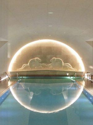 Arany Spa at Park Hyatt Vienna has the most beautiful pool I have ...