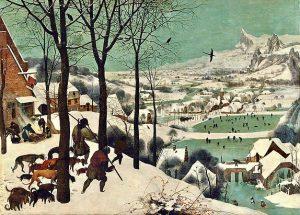 Питер Брейгель Старший «Охотники на снегу»👨🏼🎨😍, 1565г. Музей истории искусств, Вена 🇦🇹 * Брейгель – гениальный художник-философ....