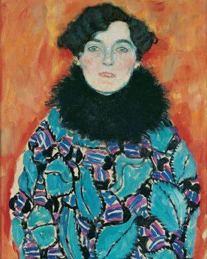 Gustav Klimt, Austria (1862-1918) Johanna Staude (1917-18) #gustavklimt #klimt #egonschiele #schiele #arthistory #modernism #paintings #painting #oilpainting #artoftheday...