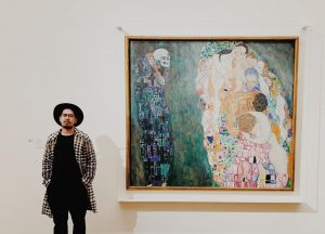 "With the one of my favorite painting of all time Klimt's ""Life & Death"" Kunsthistorisches Museum Vienna"