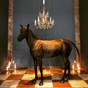 #horse #decoration #hotel #vienna #interiordesign #hotellobby #hoteldesign