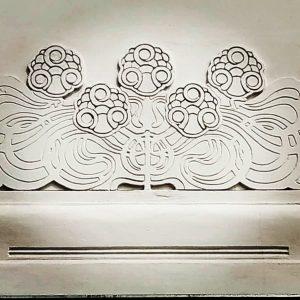 Beautiful goldenes Krauthappel! Superbe palais de la sécession ! #artnouveau #artnouveaustyle #artnouveauaroundtheworld #artnouveauarchitecture ...