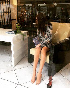 Hello Vienna #freudianslipdress #itsnoteasybeinggreen Café Daniel Moser