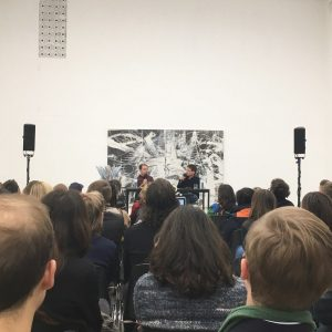 #bobnickas in conversation w #tillmankaiser at @viennasecession