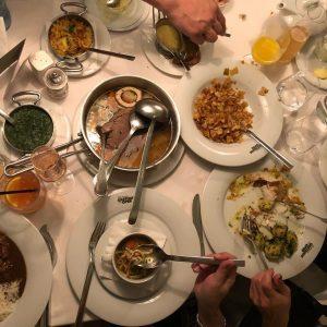 She ate like Vienna's royalty! Boiled beef! #boiledbeef #vienna #goldwellsg #h4ufme Plachuttas Gasthaus ...