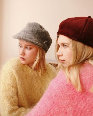 Mühlbauer | #hatpeople ▪️ANFISA and VARIA wear ETHAN and POPPY - made from soft #alpaca and #mohair...