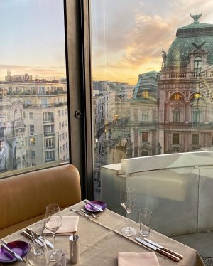 Breathtaking views at DO & CO restaurant Vienna in the 7th floor of ...