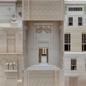 #vienna #viennasecession #secession #maquette #modelereduit #architecture #josephmariaolbrich @viennasecession