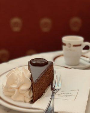 Delicious Sunday treats ahead at Café Sacher ❤️ . . . #originalsachertorte #sacherlove ...