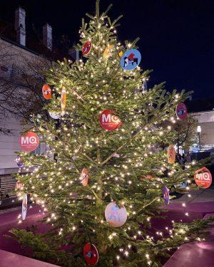 Schon sehr weihnachtlich im #mqwien MQ – MuseumsQuartier Wien