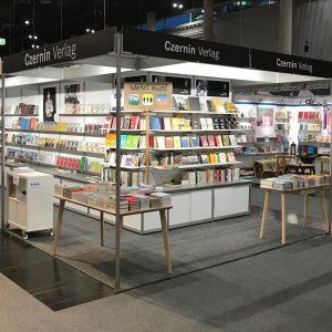 Kommt auf die @buchwien und besucht uns an unserem Stand! Wir freuen uns! #czerninverlag #buchmesse #buchwien #buch...