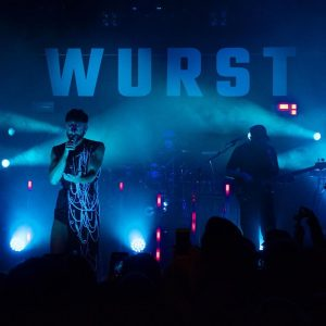 .. still entranced.. by a mesmerizing performance last weekend : WURST and band ...