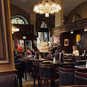 #1861 #vintage #vienna #austria Cafe Schwarzenberg