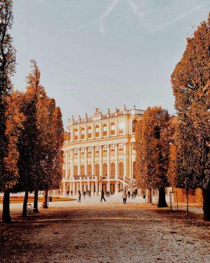 Vienna Schönbrunn Palace☀️Golden autumn in Vienna 🍁 🍁☀️🍁🍃🍁 🌟🌟 Happy Tuesday🤗🤗🤗 Best to capture with the Samsung...