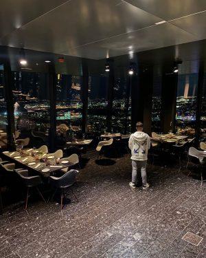 VIEWS 🌃 #vienna #dinner #etage57 57 Restaurant & Lounge by Meliá Vienna