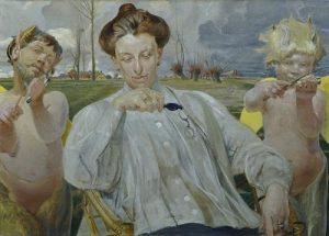 Jacek Malczewski. Portret żony, 1905 #art #polishartist #polishart #malczewski #museum #belvedere #belvedereinsight #vienna ...