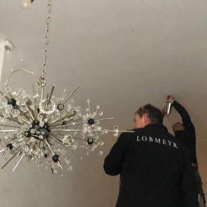 sparkling... der wohl glänzendste eingang wiens! #grandkobel #lobmeyr #wienertradition