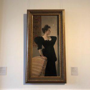 #Vienne 키스 만큼 마음에 들었던 클림트의, 검은 드레스를 입은 여인 Belvedere Museum