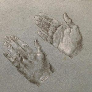 From drawing to painting: Durer #vienna #albertina #dürer Albertina Museum