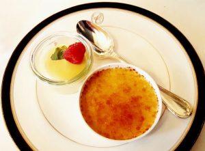 Créme Brulée . . . #palaiscoburg #palaiscoburgvienna #brunch #champagne #gaultmillau #yesmichelinguide #finedining #gourmetfood ...