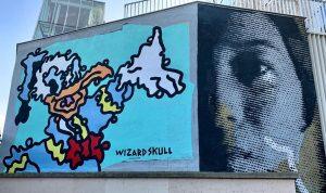 #wizardskull #donaldduck #streetpassage #q21 #mqvienna #artislove #vienna #austria #streetart #lsd MQ – MuseumsQuartier Wien