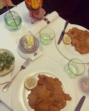 V I E N N A 🐪 #zumschwarzenkameel #wienerschnitzel#lunchtime#viennalunch Zum Schwarzen Kameel