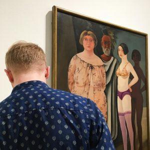 👀Stirrandet👀, Quinnorna och en inramad lilla My Leopold Museum