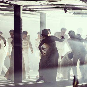 #laVestale #preview #ArnoldSchoenbergChor in #eternallight Directed by #johanneserath Lightdesign by #berndPukrabek Stage design by #katrinconnan Opening Night...