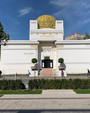 Secessione viennese 🇦🇹 #wien #austria #secession #art #travel #holiday #instagram